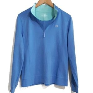 vineyard vines Light Weight Shep Shirt 1/4 Zip M